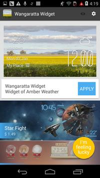 Wangaratta1 weather widget apk screenshot