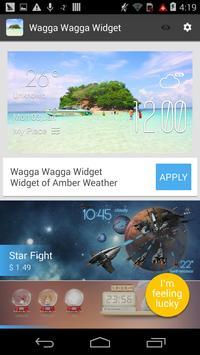Wagga Wagga weather widget apk screenshot