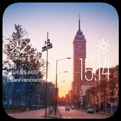 Ciudad Juarez weather widget icon