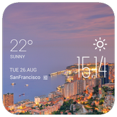Coast City weather widget icon