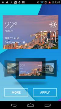 Coast City weather widget apk screenshot