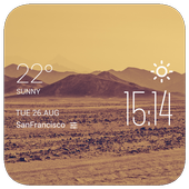 Dust Storms temp weather icon