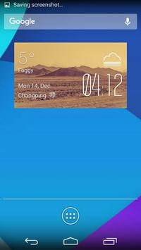 Dust Storms temp weather poster