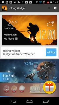 f2v2 hiking1 weather widget/clockq1w1 screenshot 2