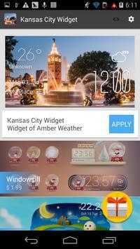 Kansas City weather widget apk screenshot