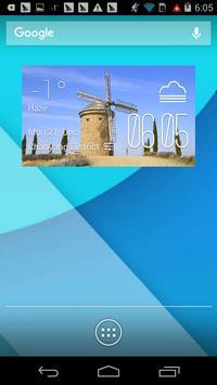 La Rioja weather widget/clock पोस्टर