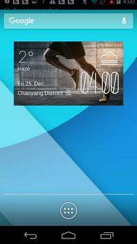 a1l1 marathon1 weather widget/clocku7i7 f2v2 poster