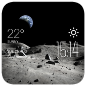 Moon2 weather widget/clock icon