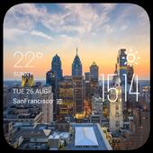 philadelphia1 weather widget icon