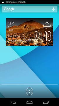 Potosi weather widget poster
