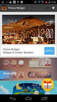 Potosi weather widget apk screenshot