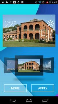Santo Domingo weather widget apk screenshot