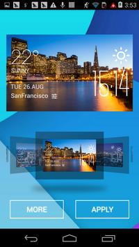 san Francisco1 weather widget screenshot 1