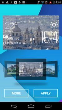 San Lorenzo weather widget apk screenshot