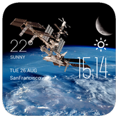 space station2 weather widget icon