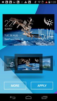 space station2 weather widget apk screenshot