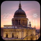 st  paul weather widget/clock icon