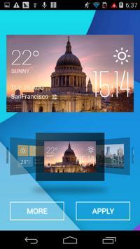 st  paul weather widget/clock apk screenshot