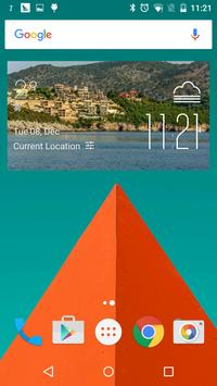 Cape Town Weather Widget poster
