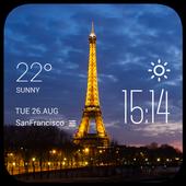 Paris Weather Widget icon