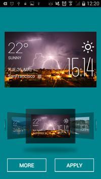 Dawson Creek weather widget apk screenshot