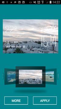 Hurghada weather widget/clock screenshot 1