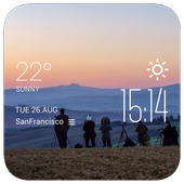Matareya weather widget/clock icon