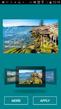 Nanaimo weather widget/clock apk screenshot