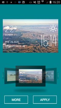 Nelspruit weather widget/clock apk screenshot