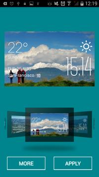 Port Coquitlam weather widget apk screenshot