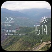 10th of Ramadan weather widget icon
