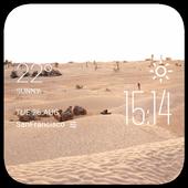 Shibin El Kom weather widget icon