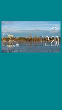 Abbotsford weather widget poster