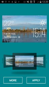 Abbotsford weather widget screenshot 1