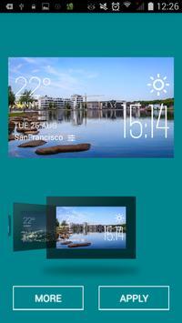 Dortmund weather widget/clock apk screenshot
