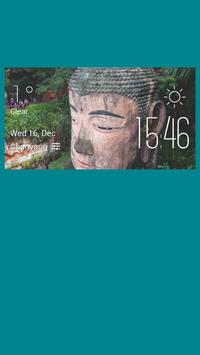 Leshandafo weather widget poster