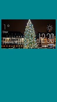 Strasbourg weather widget poster