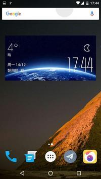 Universe Weather Widget poster
