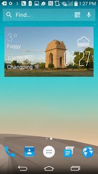 New Delhi Weather Widget apk screenshot