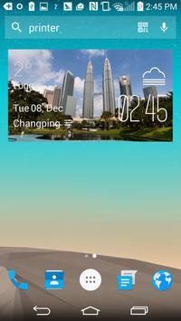 Kuala Lumpur Weather Widget apk screenshot