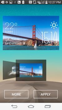 San Francisco Weather Widget poster