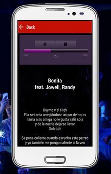 Balvin Mi Gente lyrics apk screenshot