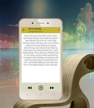 Elvis Presley Top Songs Falling In Love With You apk screenshot