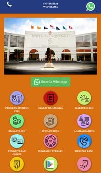 Universitas Widayatama Bandung poster