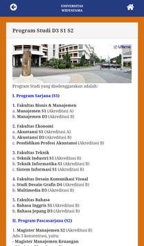 Universitas Widayatama Bandung apk screenshot