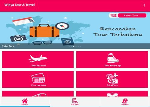 Widya Tour & Travel apk screenshot