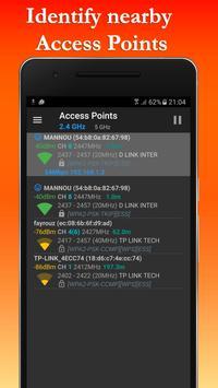 FREE WiFi Hotspot Analyzer Scanner for Wireless screenshot 3
