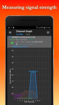 FREE WiFi Hotspot Analyzer Scanner for Wireless screenshot 2