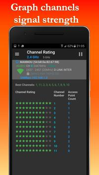 FREE WiFi Hotspot Analyzer Scanner for Wireless screenshot 4