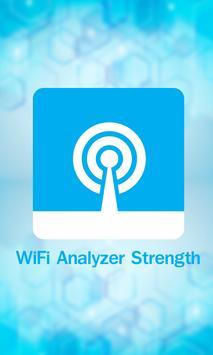WiFi Analyzer Strength poster